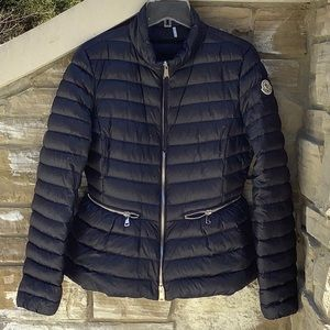Moncler Agate Short Quilted down filled jacket